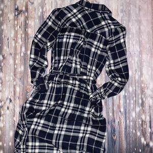 Motherhood Maternity Dresses - Motherhood maternity plaid dress